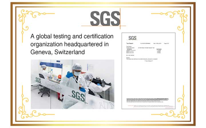 Fucoidan safety testing by SGS
