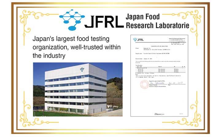 Fucoidan safety testing JFRL