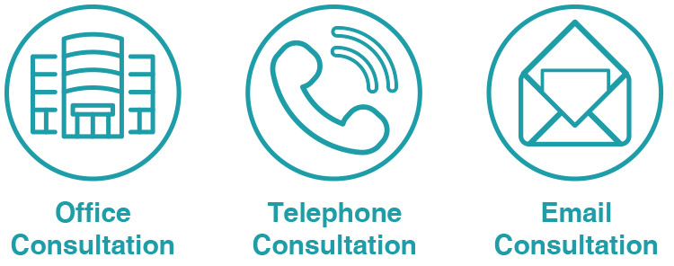 3 ways to contact us