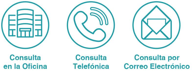 3 formas de contactar con nosotros