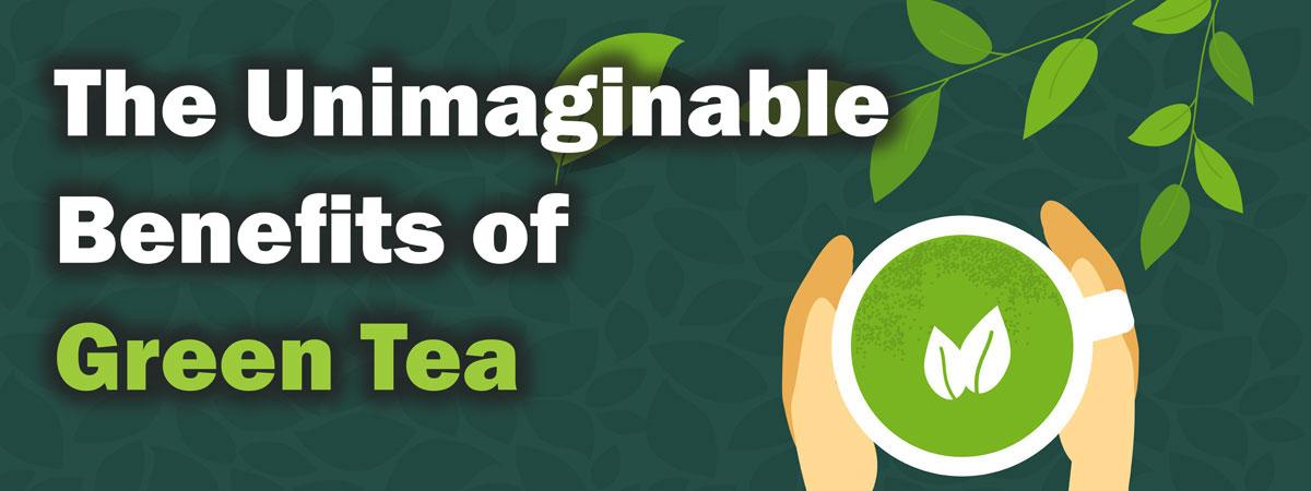 綠茶不可思議的益處