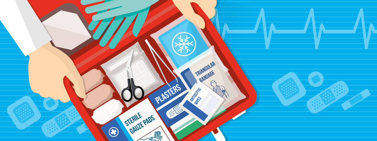 What to keep in your first-aid kit